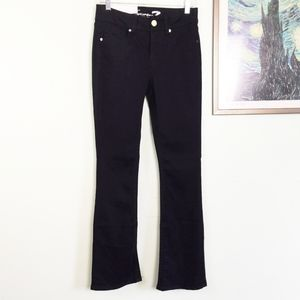 NWT Seven7 Black Slim Boot Jeans Size 4